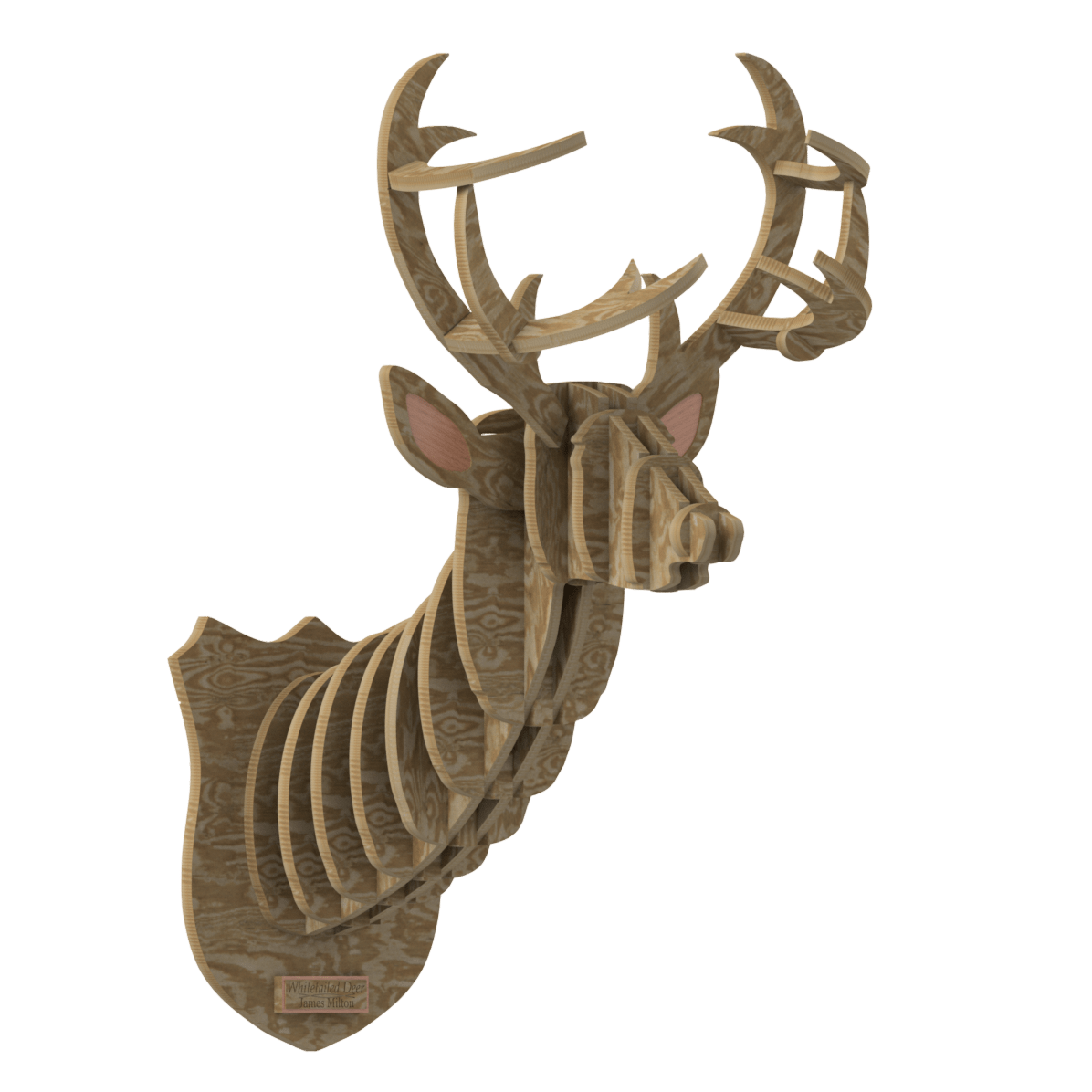 Flatpack Deer Head